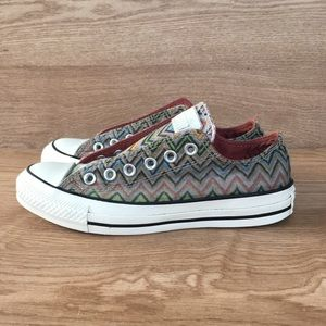 Converse Missoni Chevron Printed sneakers